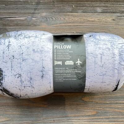 Birch Log Pillow