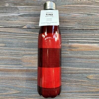 25 oz. SS Buffalo Plaid Bottle