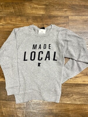 CP Made Local Gray Crew 8875