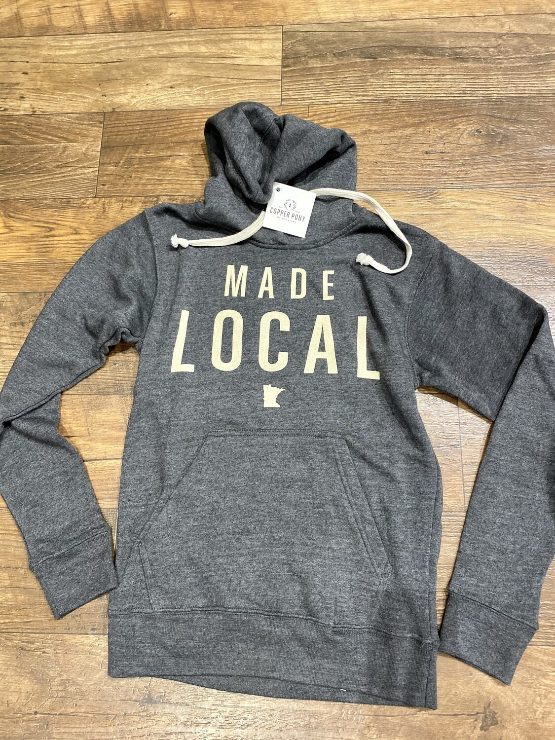 CP Made Local Black Hoodie 8871