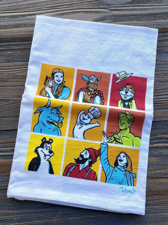 Adam Turman Flour Sack Towel