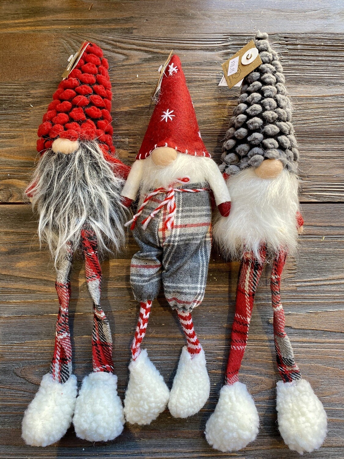 Christmas Dangle Leg Gnome