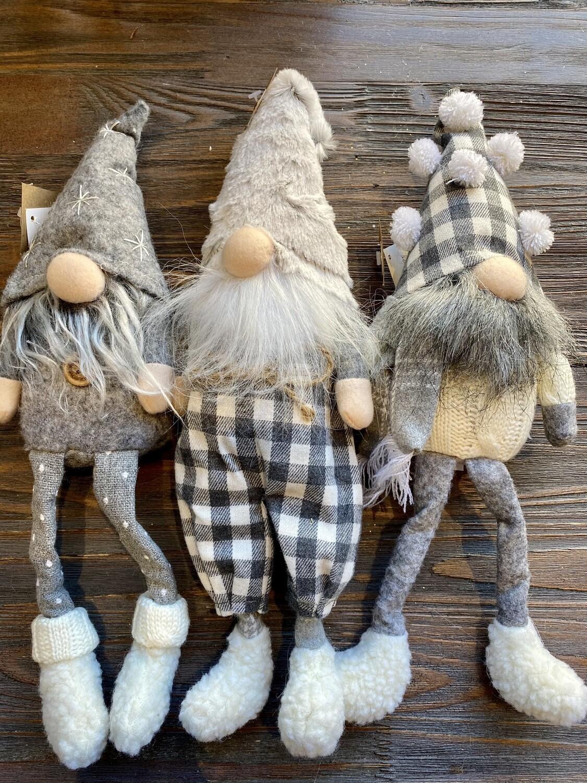 2020 Christmas Neutral Dangle Leg Gnome