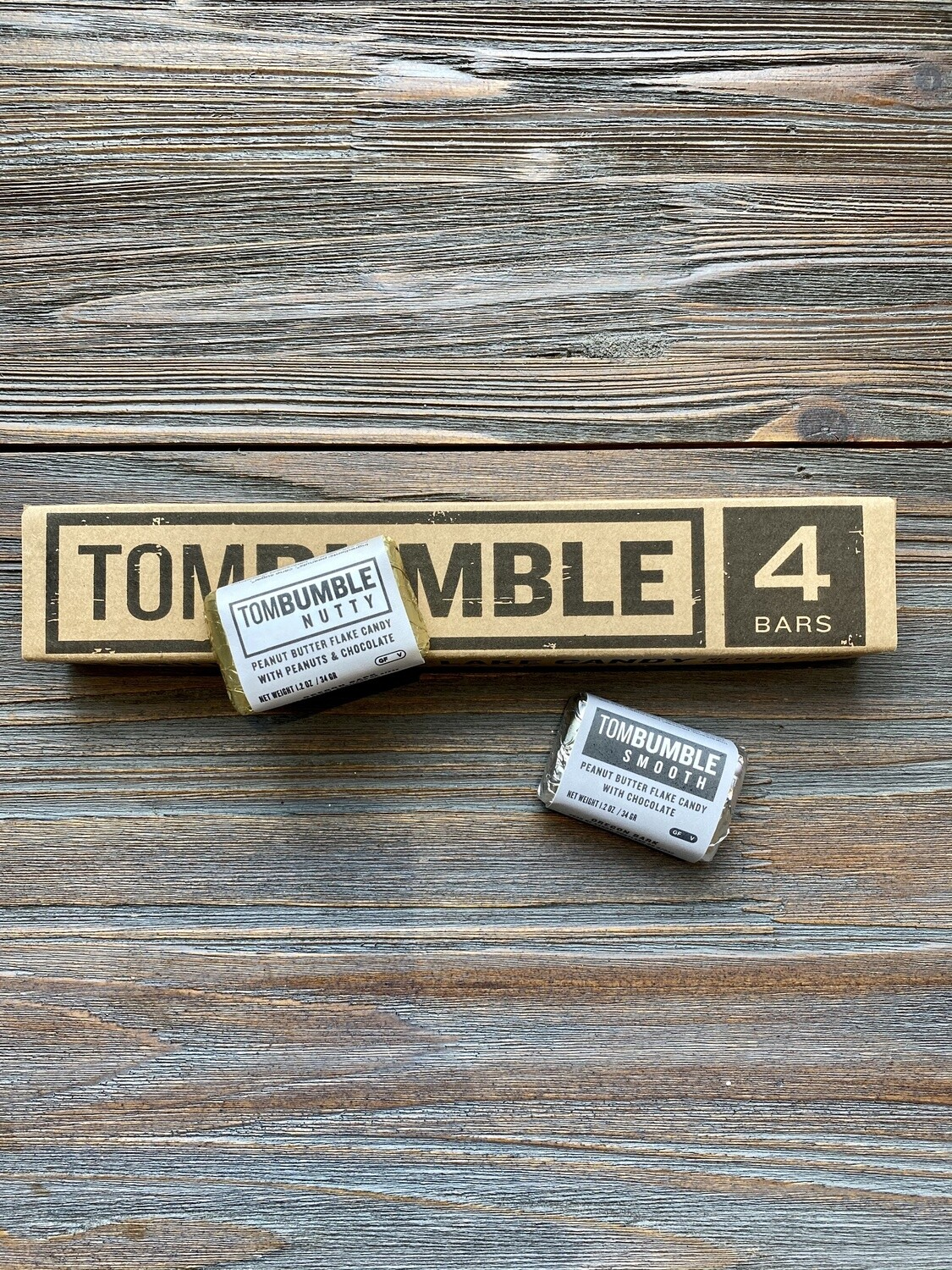 Tom Bumble Candy Bar 4 Pack