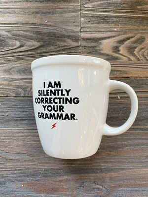 Correcting Your Grammar Mug