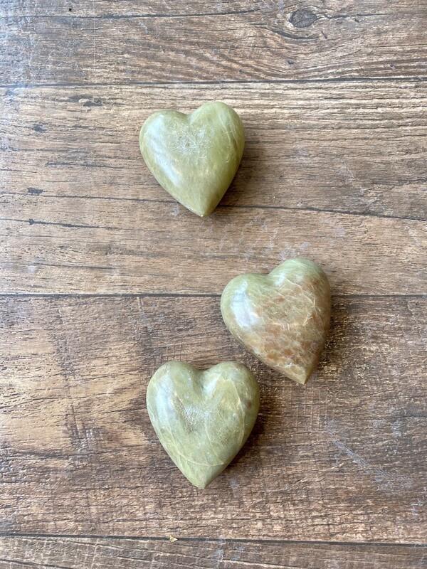 Soapstone Heart