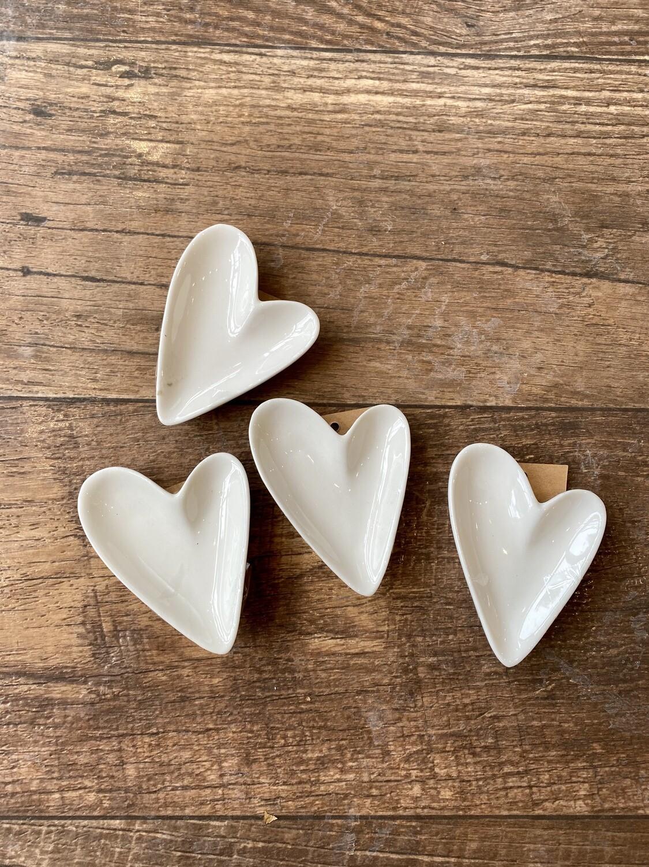 Small Ceramic Heart Dish