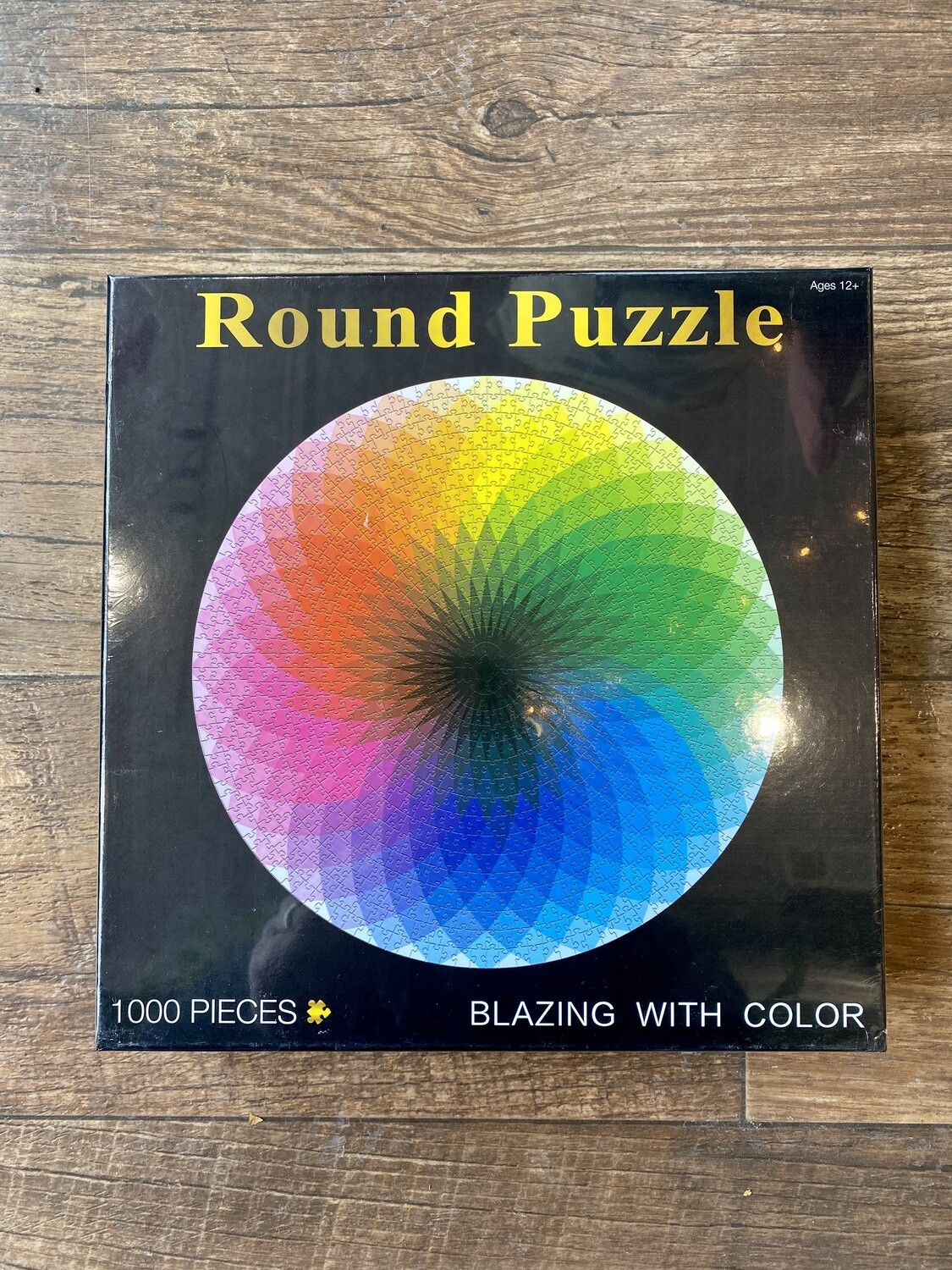 Blazing With Color Round Puzzle