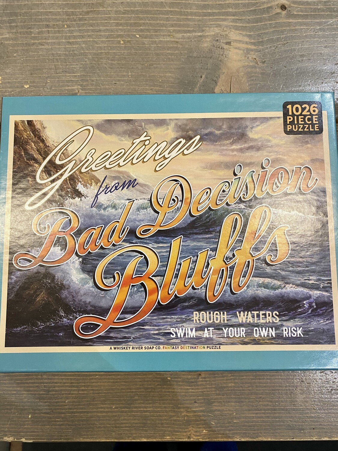 Whiskey River Puzzle
