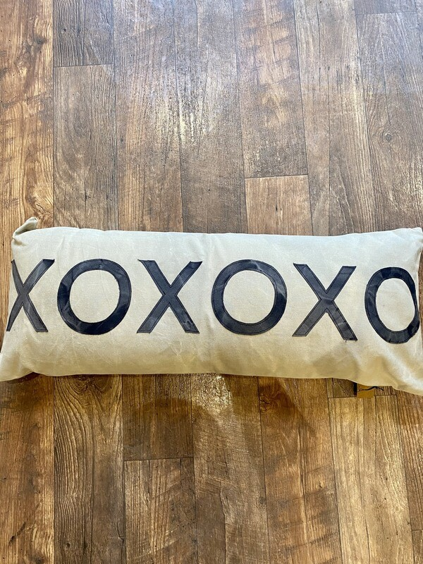 36 x 14 XO Pillow