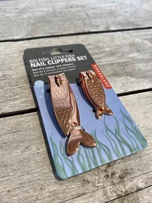 Copper Fish Nail Clipper Set