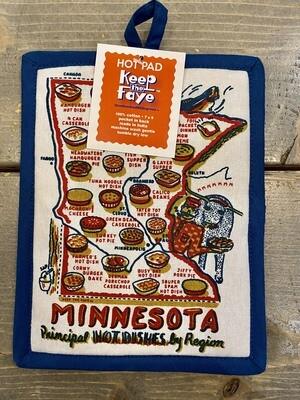 Minnesota Principal Hot Dish Hot Pad