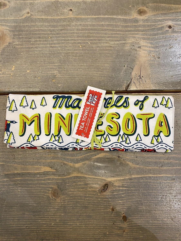 Marvels of Minnesota Dish Towel