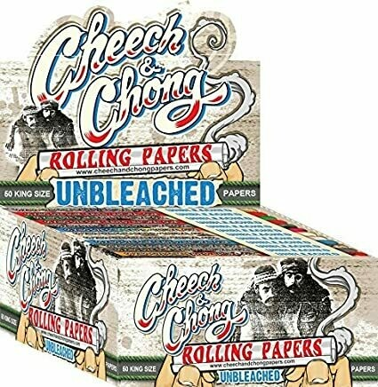 CHEECH AND CHONG UNBLEACHED KS PAPERS