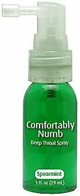COMFORTABLY NUMB SPEARMINT DEEP THROAT SPRAY