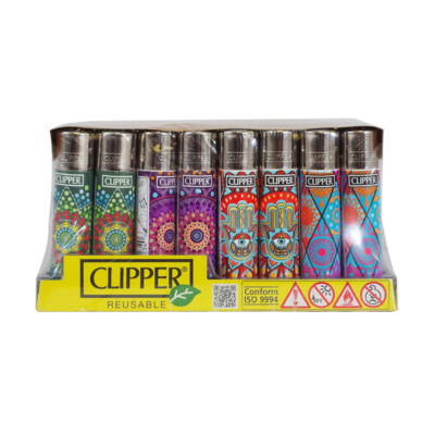 CLIPPER LIGHTER ROTATIONAL MANDALA