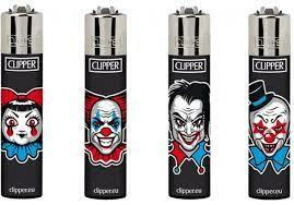 CLIPPER LIGHTER HORROR CLOWNS