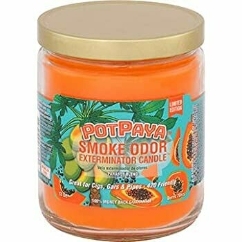 SMOKE ODOR CANDLE POTPAYA