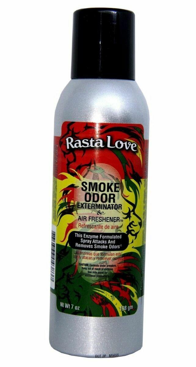 SMOKE ODOR SPRAY RASTA LOVE