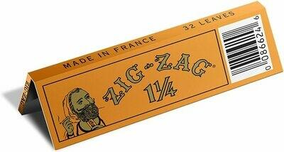 ZIG ZAG ORANGE PAPERS  1 1/4