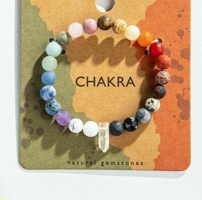 Chakra Quartz Bracelet
