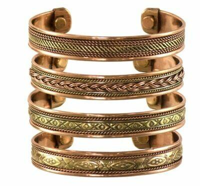 Tibetan Copper Bracelet Magnetic