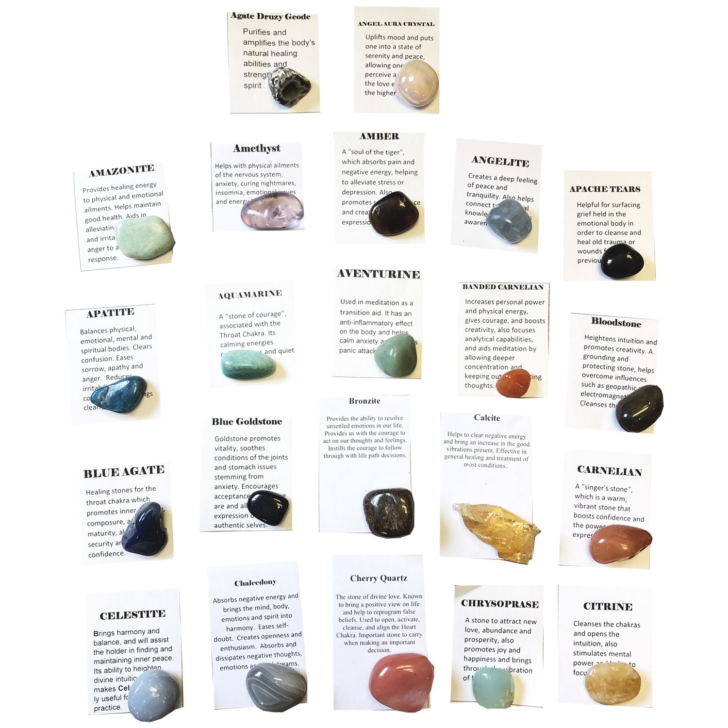 Pick Your Own Pocket Stones