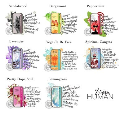 Warm Human Essential Oil Solid Perfume Tin