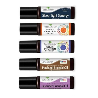 Essential oil Single Pre-Diluted Roll On