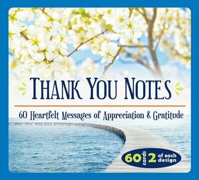 Thank You Notes- 60 Heartfelt Messages of Appreciation & Gratitude