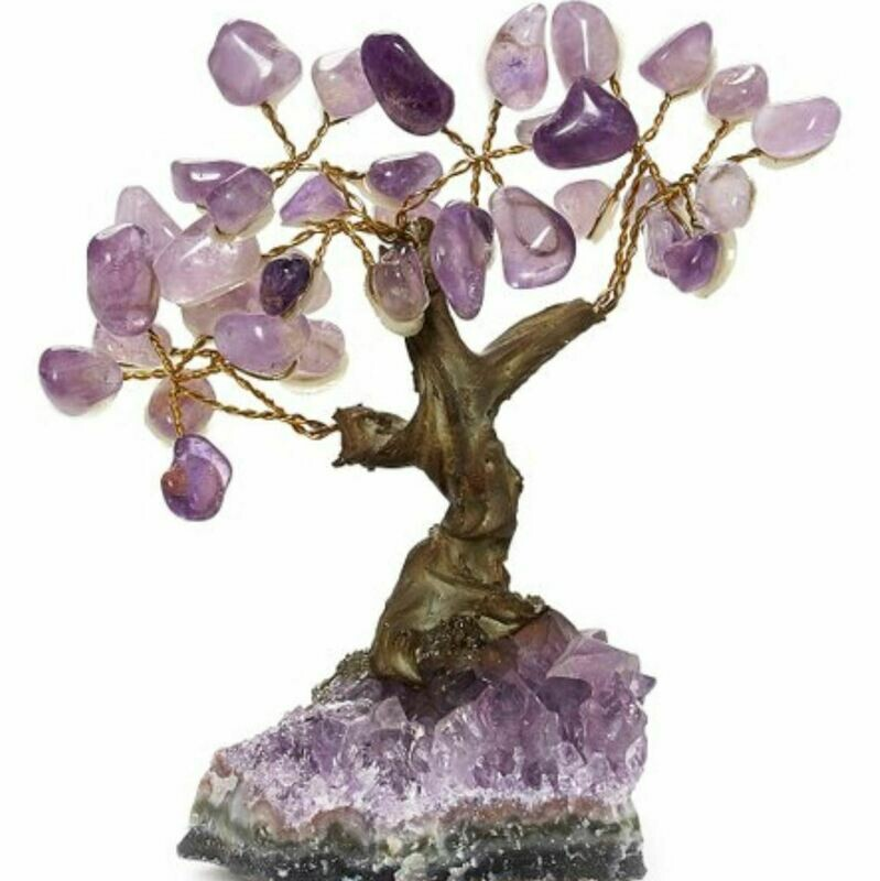 Bonsai Gemstone Tree Amethyst
