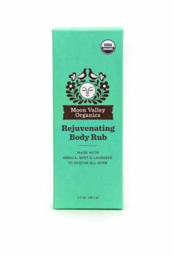 Moon Valley Organics Rejuvenating Body Rub 1.7 oz