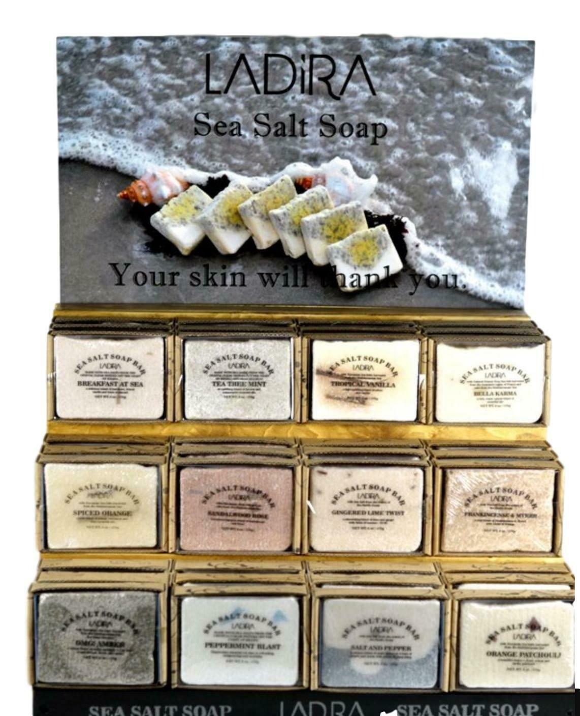 LaDira Exfoliating Sea Salt Soaps