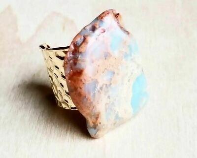 Aqua Terra Turquoise Slab Ring