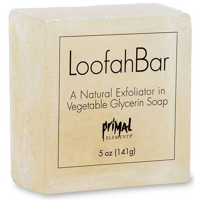 Primal Elements Loofah Bar Soap