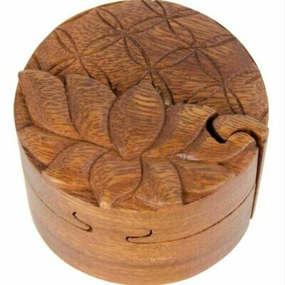 Flower of Life Lotus Puzzle Box
