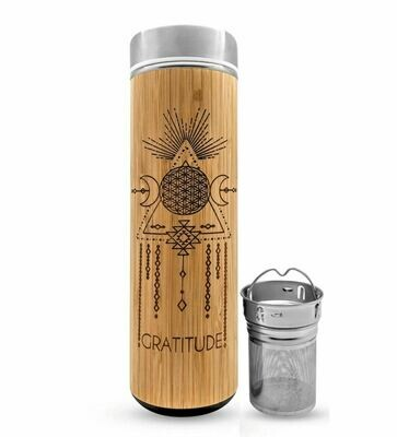 Bhavana Bamboo Water Bottle with Infuser