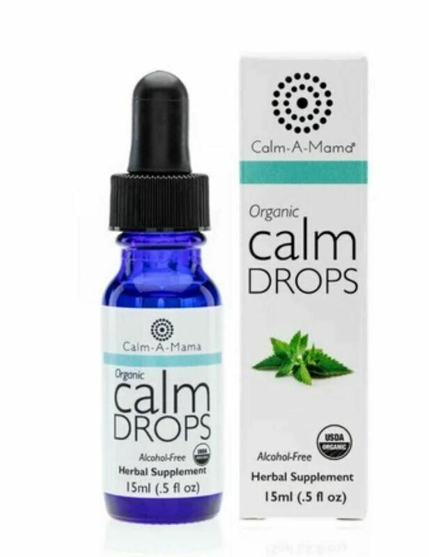 Calm A Mama Organic Herbal Drops