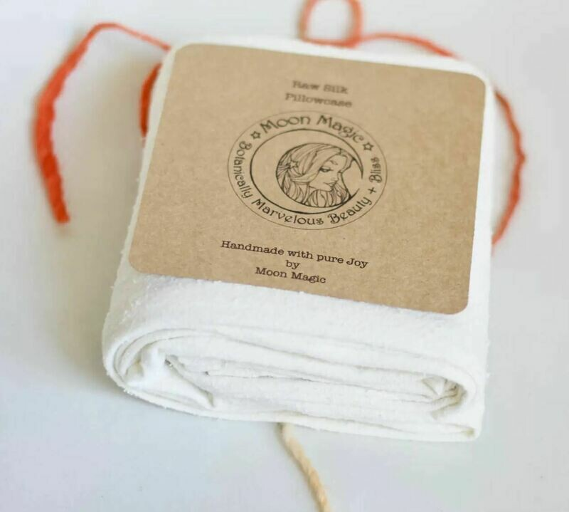 Raw Silk Pillow Case