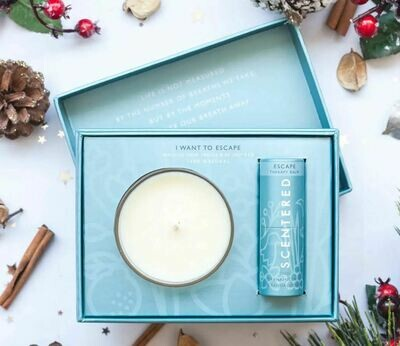 I Want to Escape Candle and Balm Boxed Set