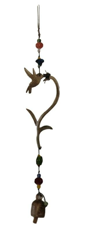 Hummingbird Nana Bell Wind Chime 22