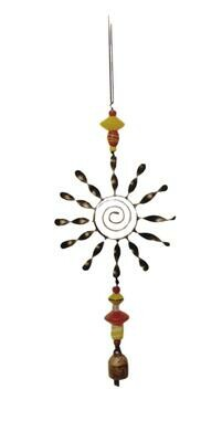 Sun Spiral Nana Bell Wind Chimes 23