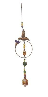 Hummingbirds Nectar Nana Bell Wind Chimes 25