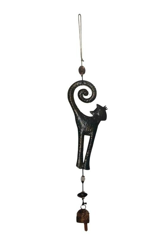 The Pretty Cat Nana Bell Copper Wind Chime 23