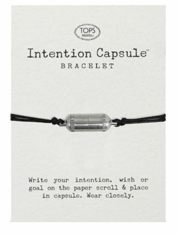 Intention Capsule Bracelet Black