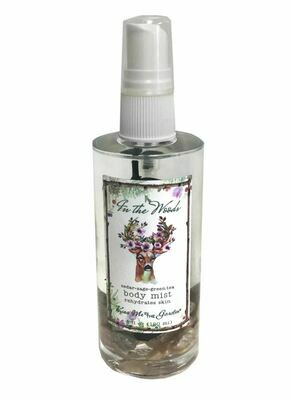 In the woods body mist 4 oz
