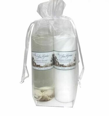 Sea Garden Hand Soap and Cream Gift set Water Lily & Lotus Flower