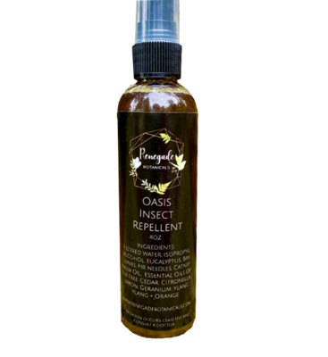 Oasis Natural Insect Repellent 4 oz