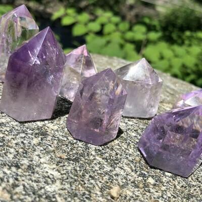 Mini Amethyst Crystal Points