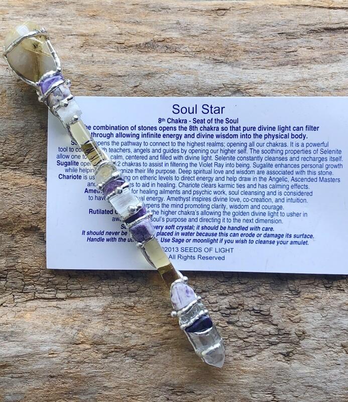 Soul Star Gemstone Wand